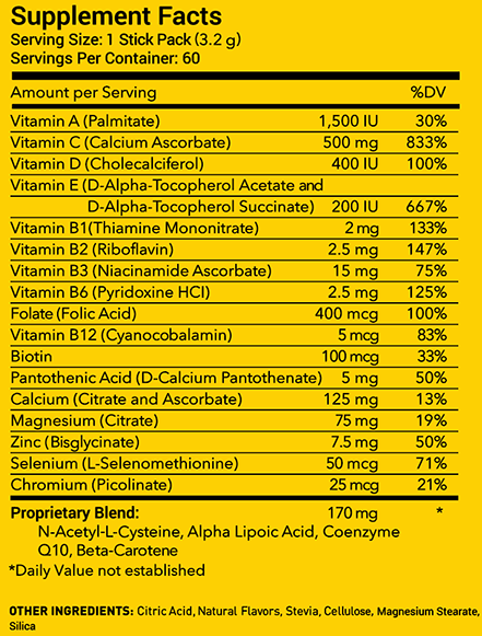 microdaily hydro supplement facts